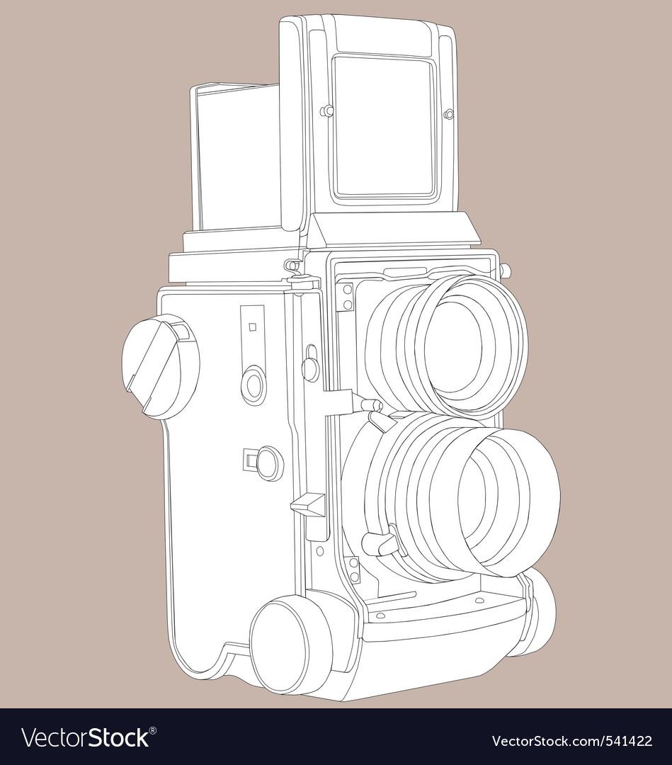 Reflex film camera