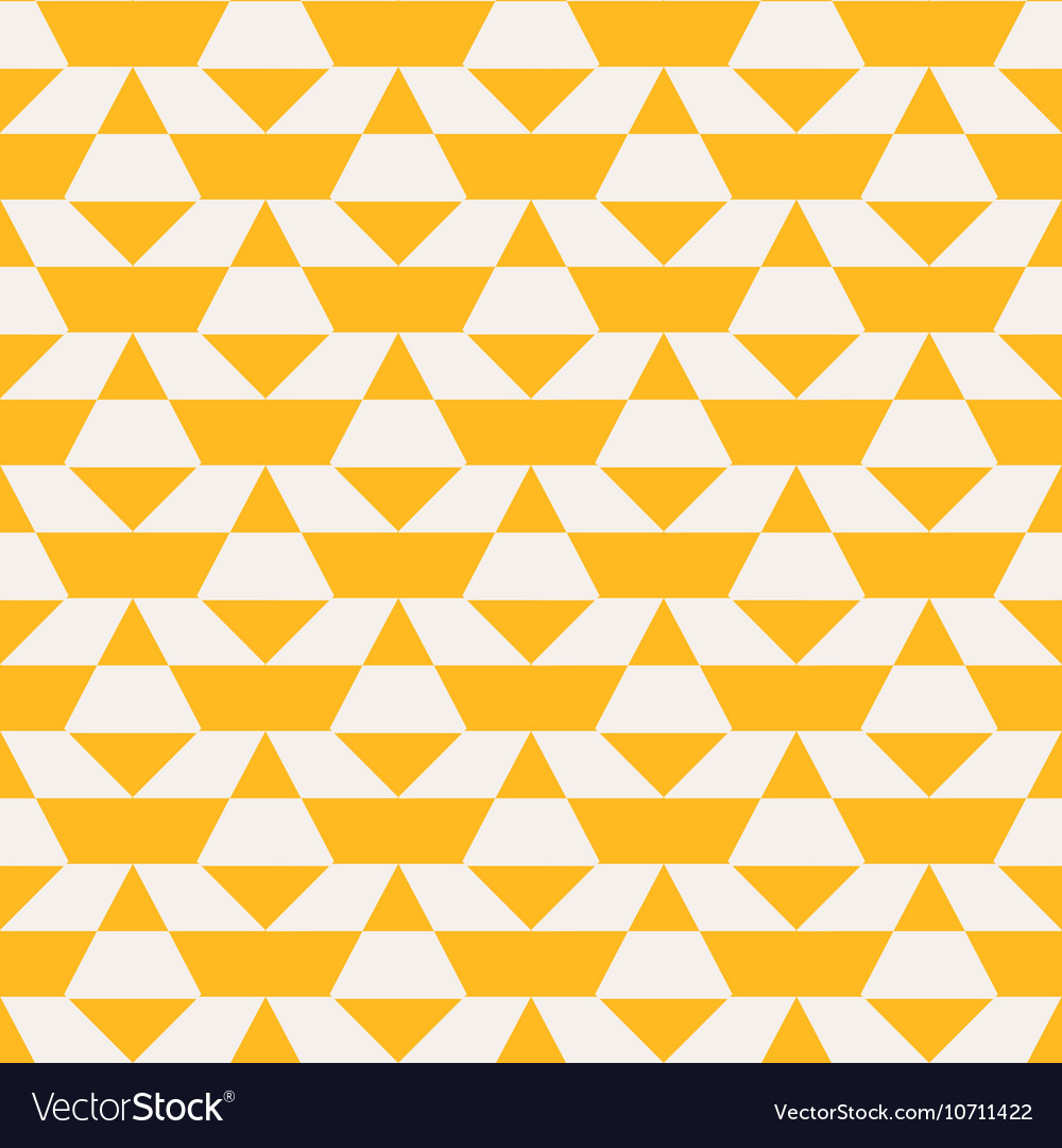 Yellow color blocked pattern