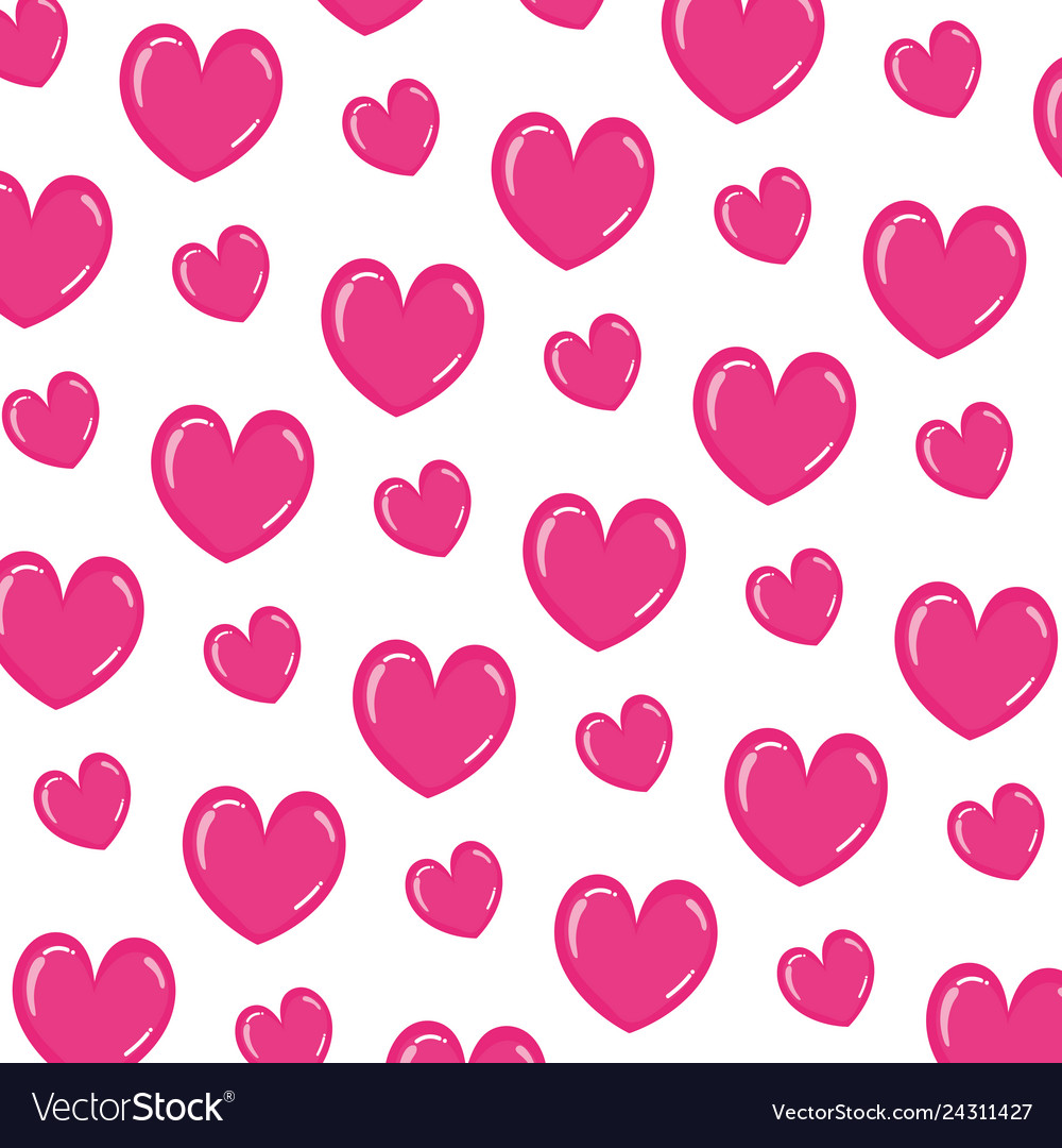 Beauty heart romance symbol background