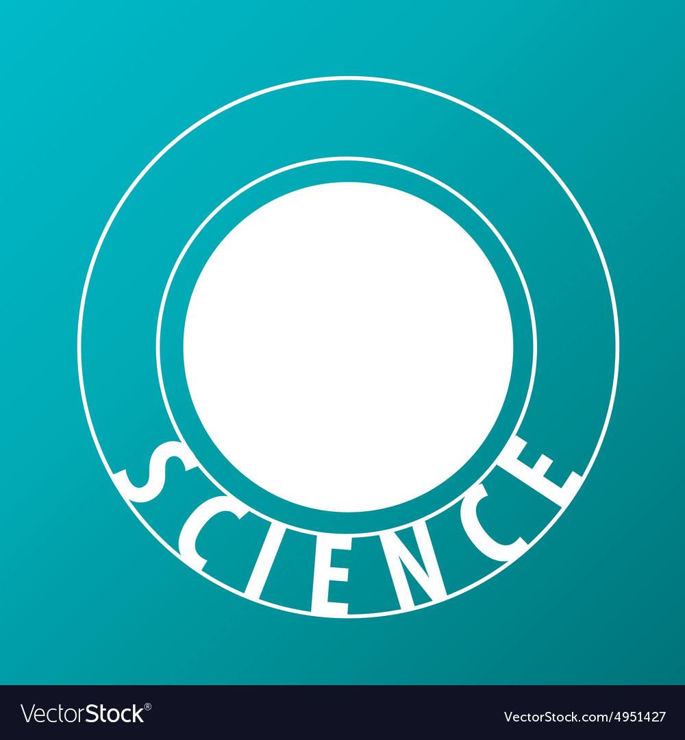 Logo atoms fly in sphere