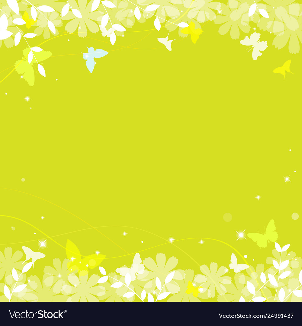 Abstract spring summer background in green color