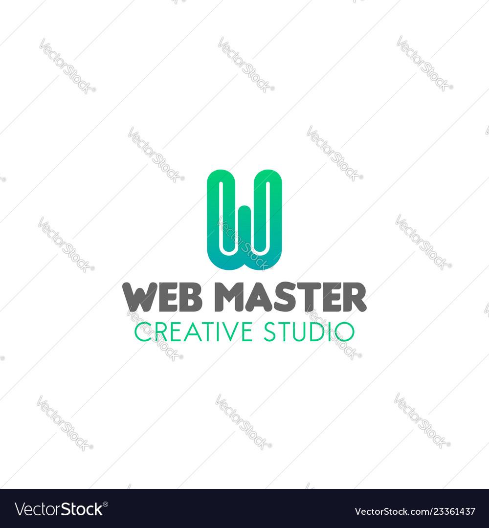 Emblem for web studio