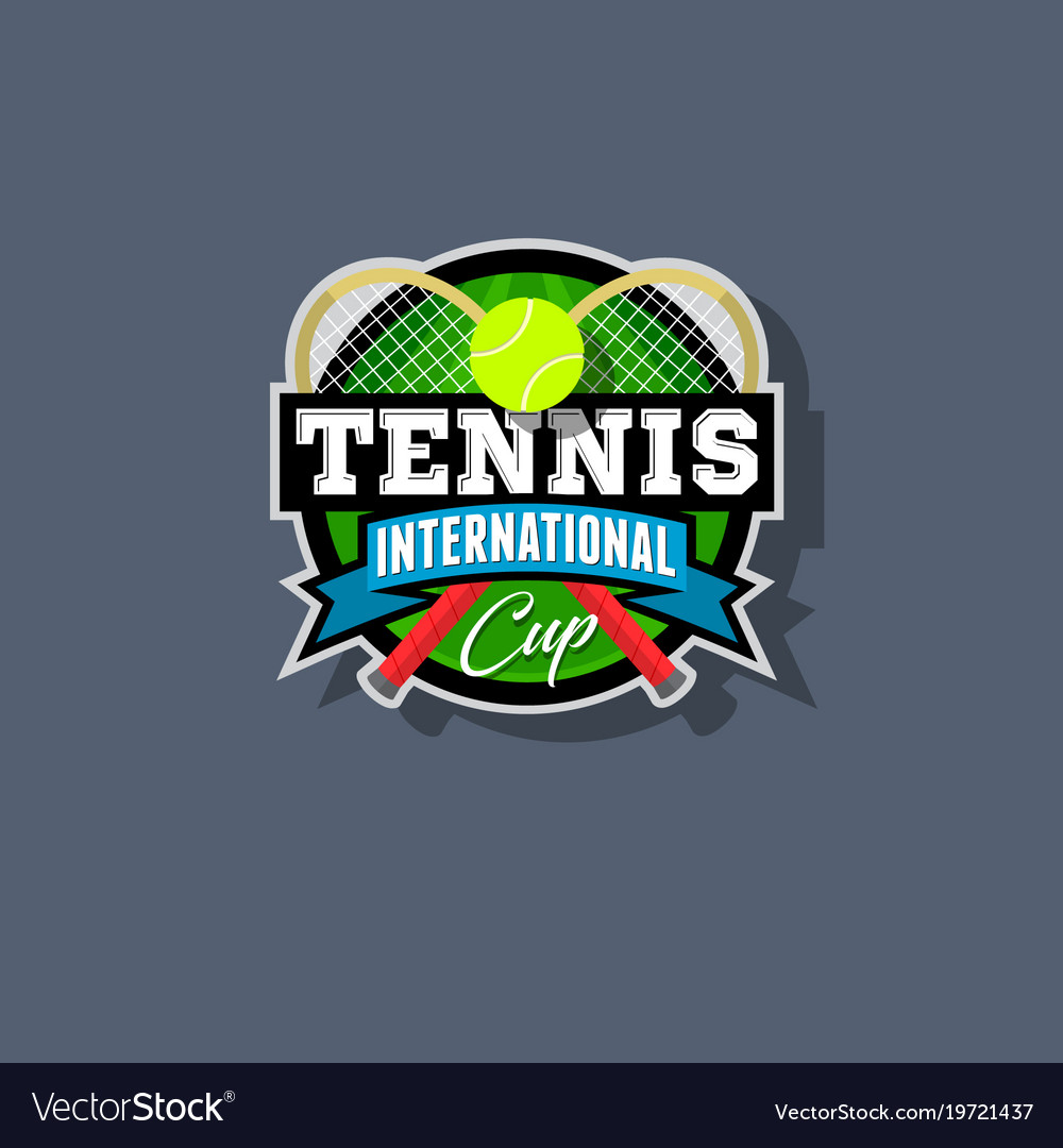 Tennis emblem or logo