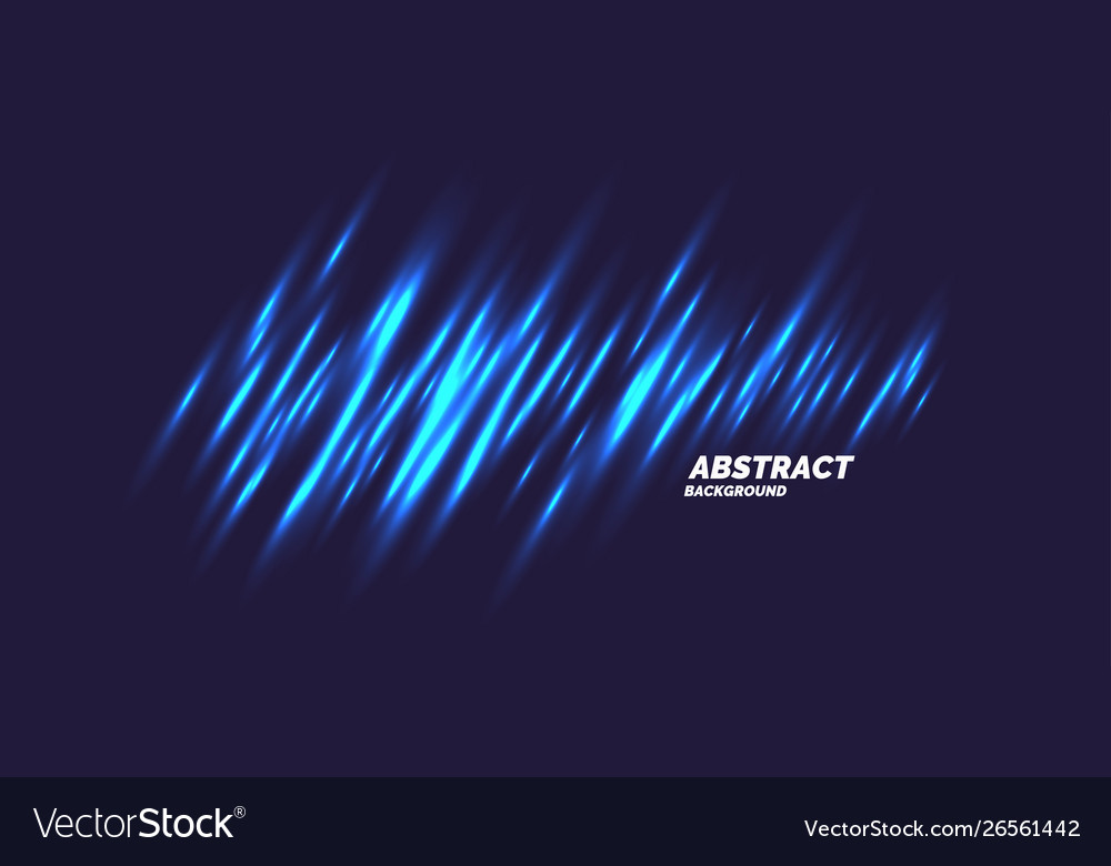 Abstract background with transparent blue rays