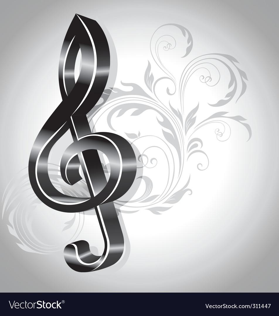 music background vector. Music Background Vector