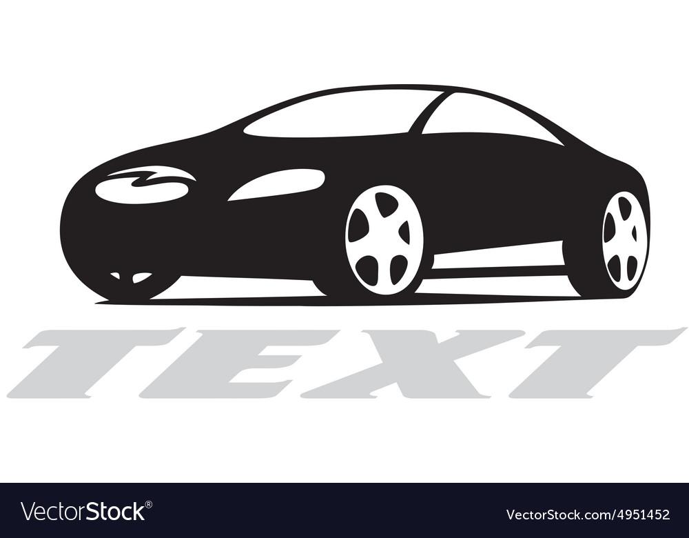 Car Silhouette Logo Royalty Free Vector Image Vectorstock
