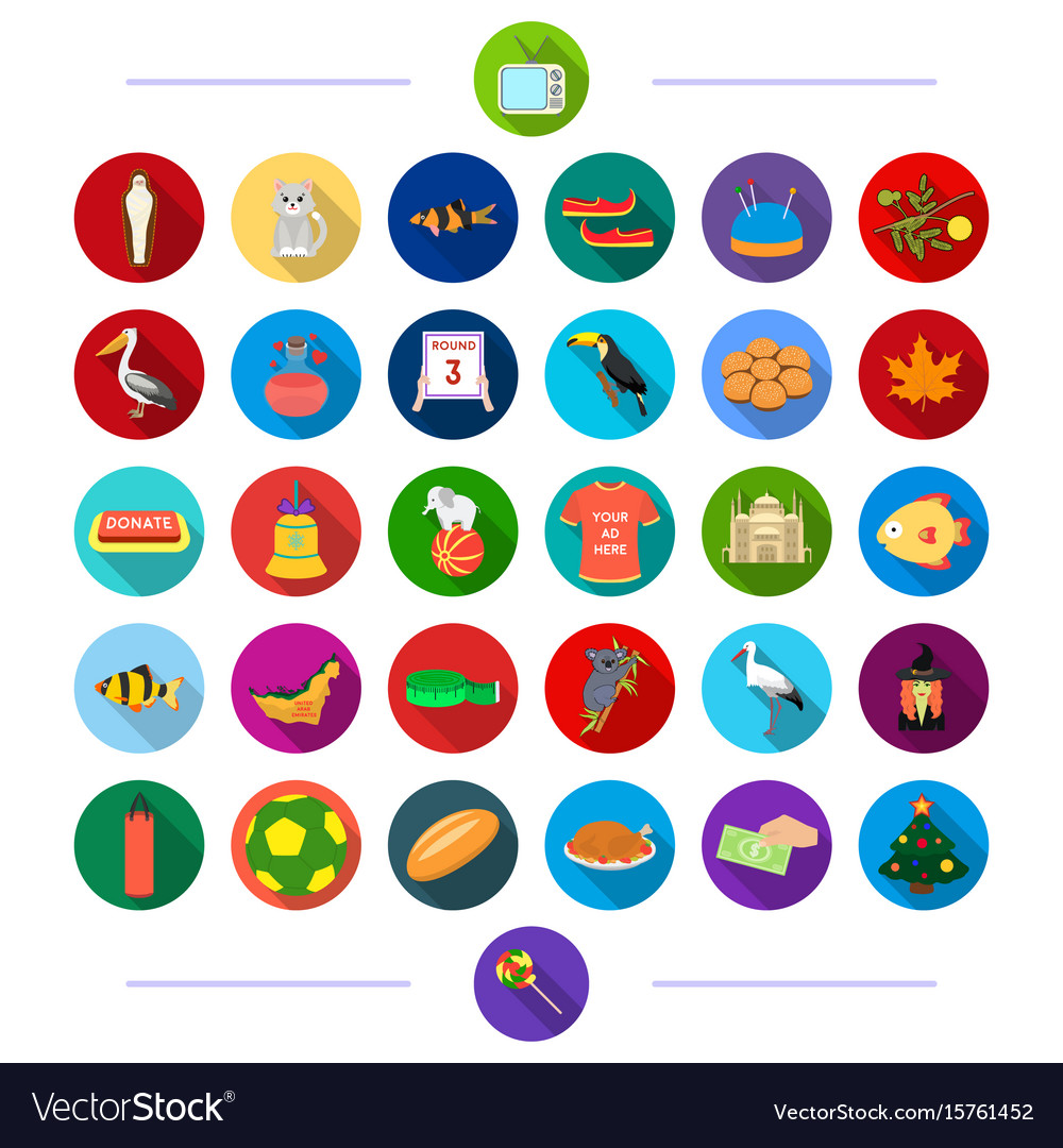 Travel sport architecture and other web icon in vector image