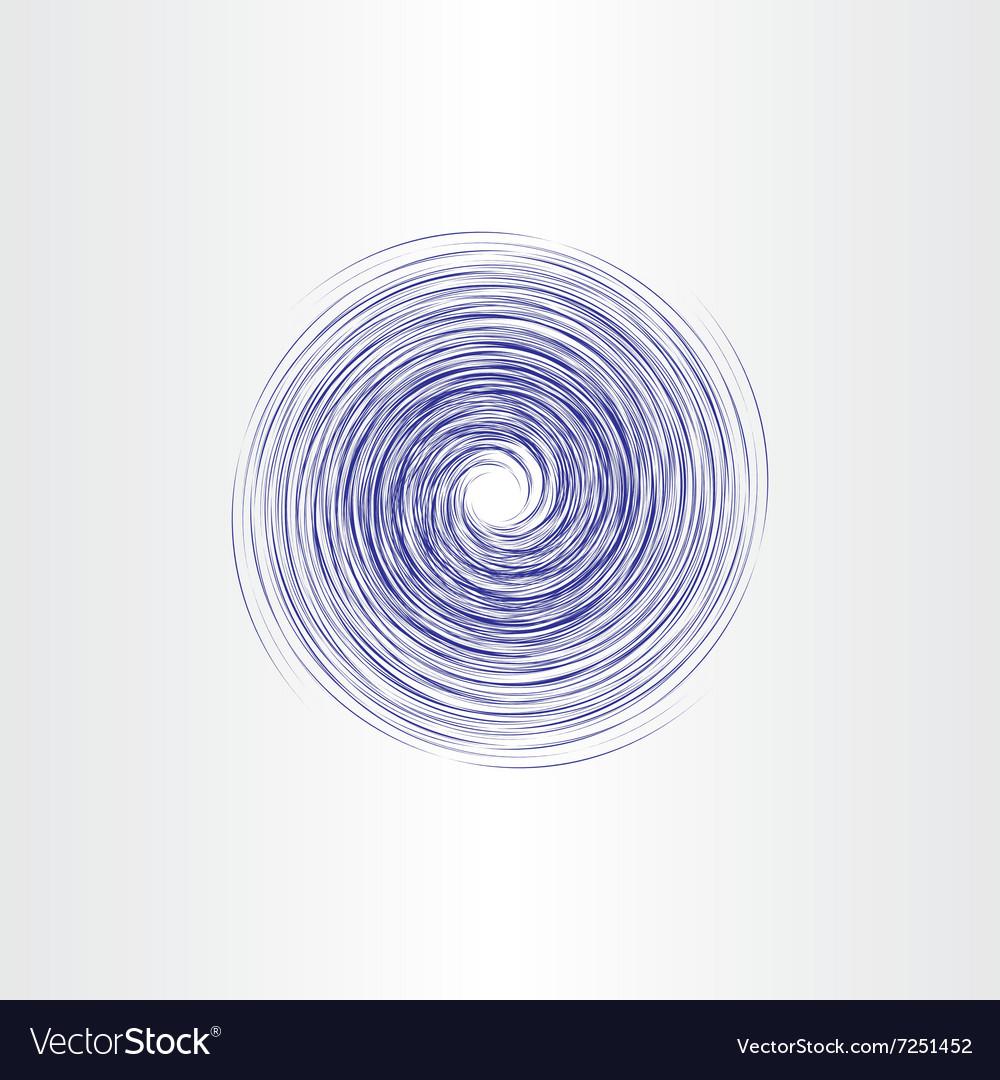 Water spiral vortex abstract background design