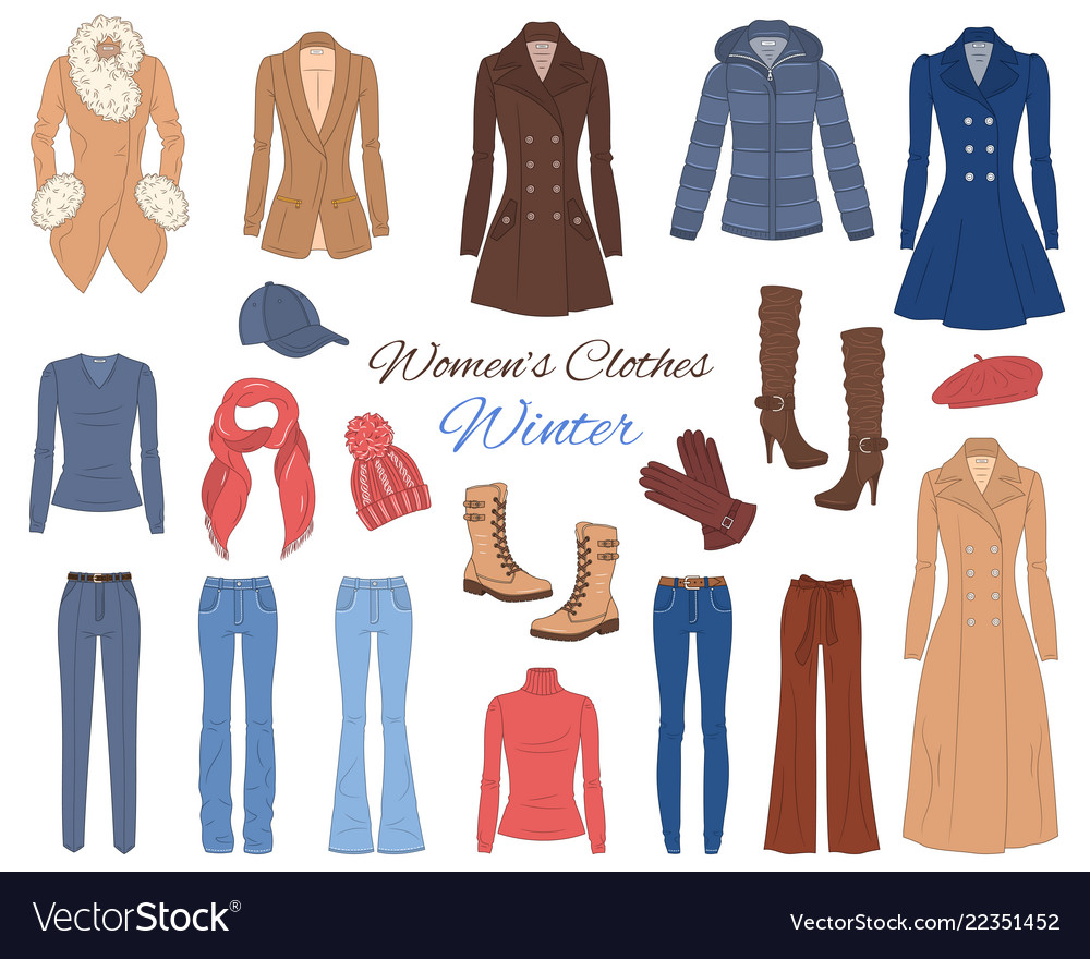 Women s clothes collection winter outfit