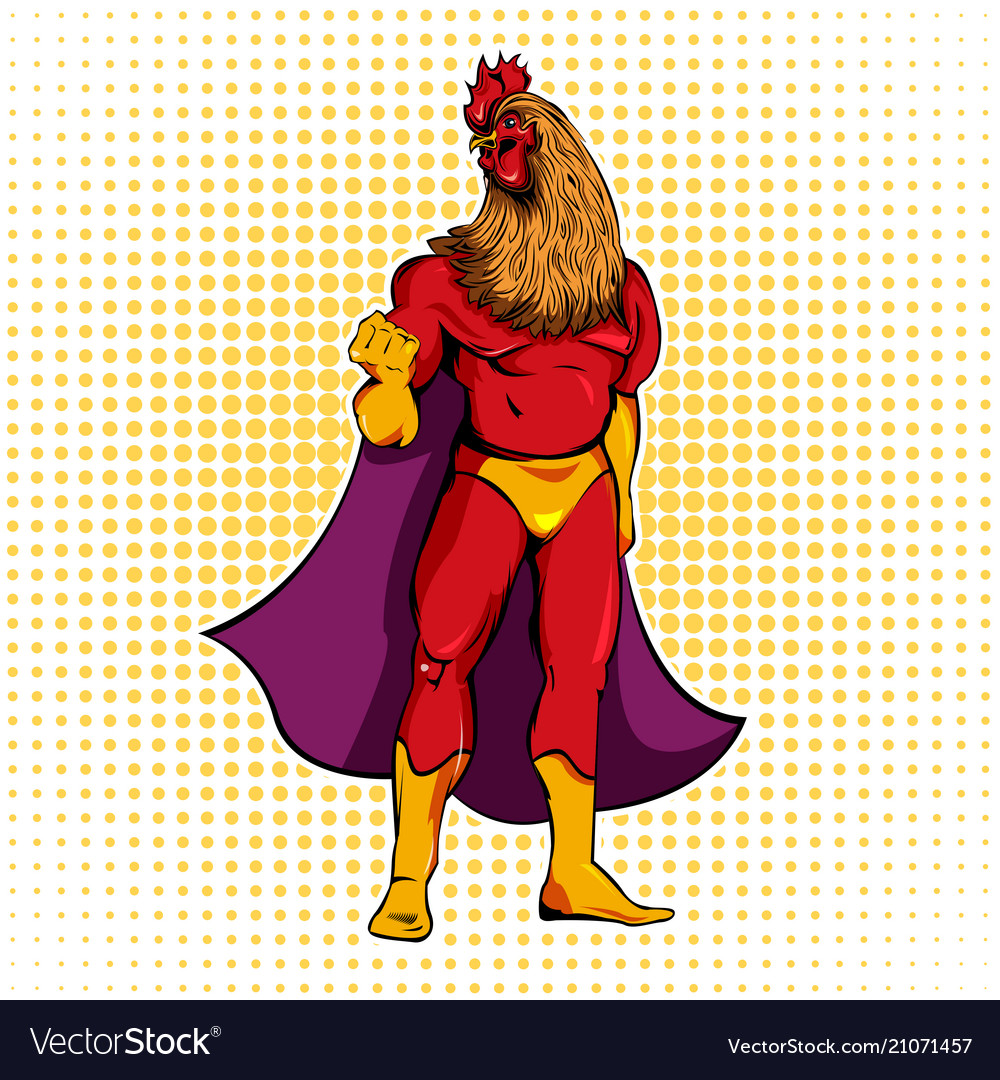 comic superhero template royalty free vector image
