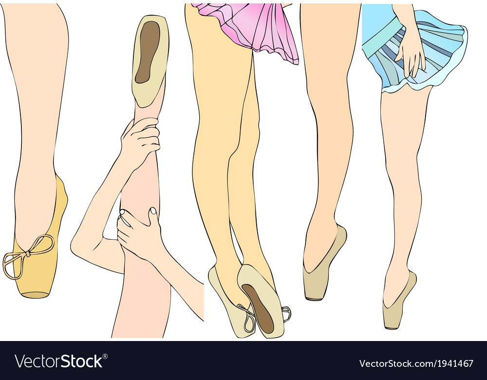 Dance Steps vector image