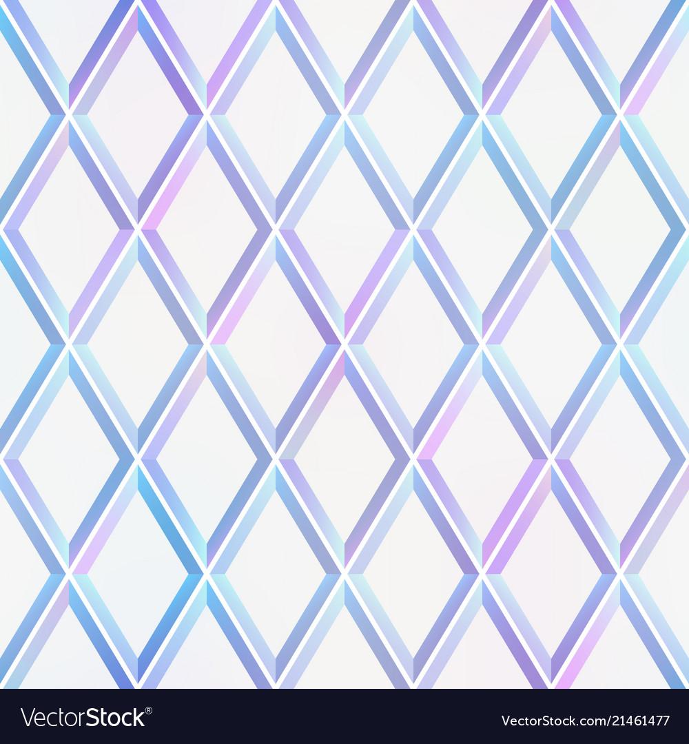 Purple mosaic seamless pattern