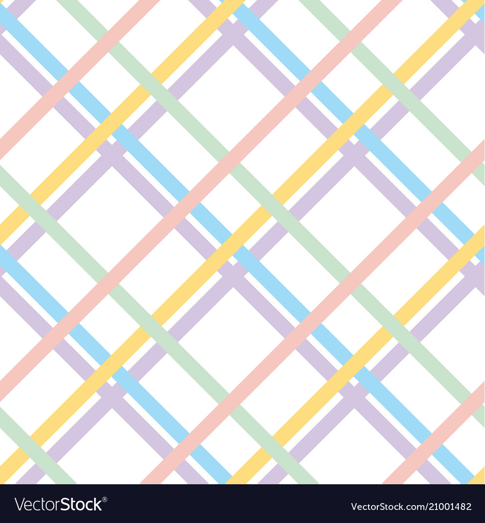 Pale color checkered pattern seamless pattern