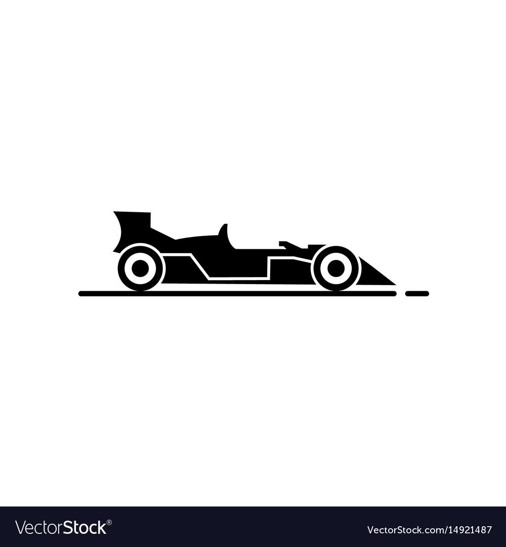 Racing Car Icon Royalty Free Vector Image Vectorstock
