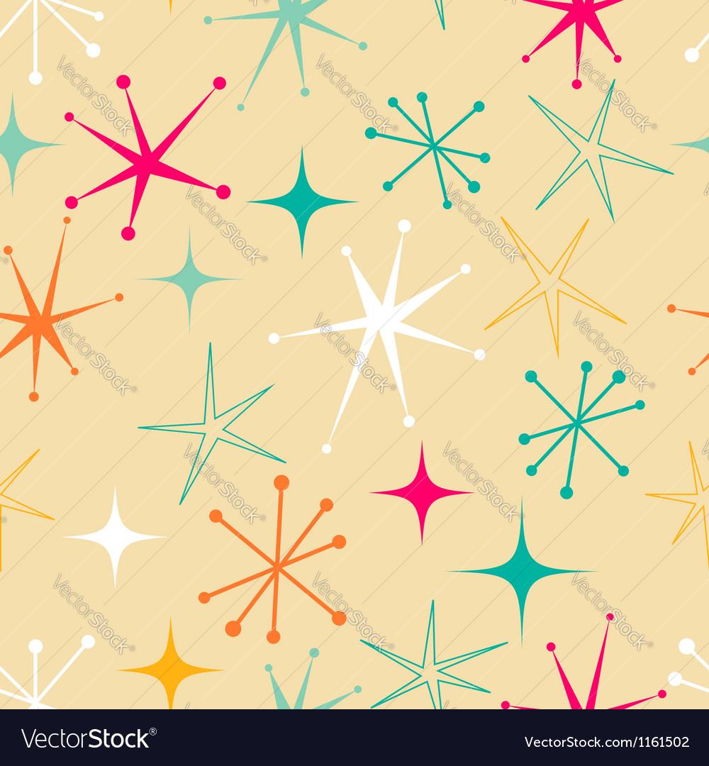 Retro starry pattern