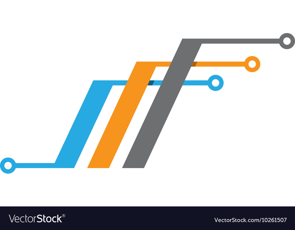 Cable Wires Wiring Logo Template Icon Royalty Free Vector