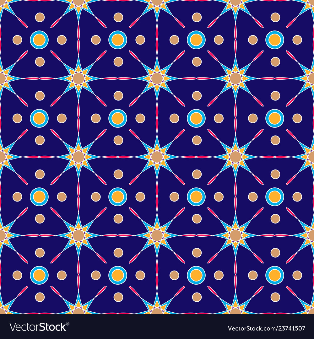 Ethnic geometric patterns colorful design for