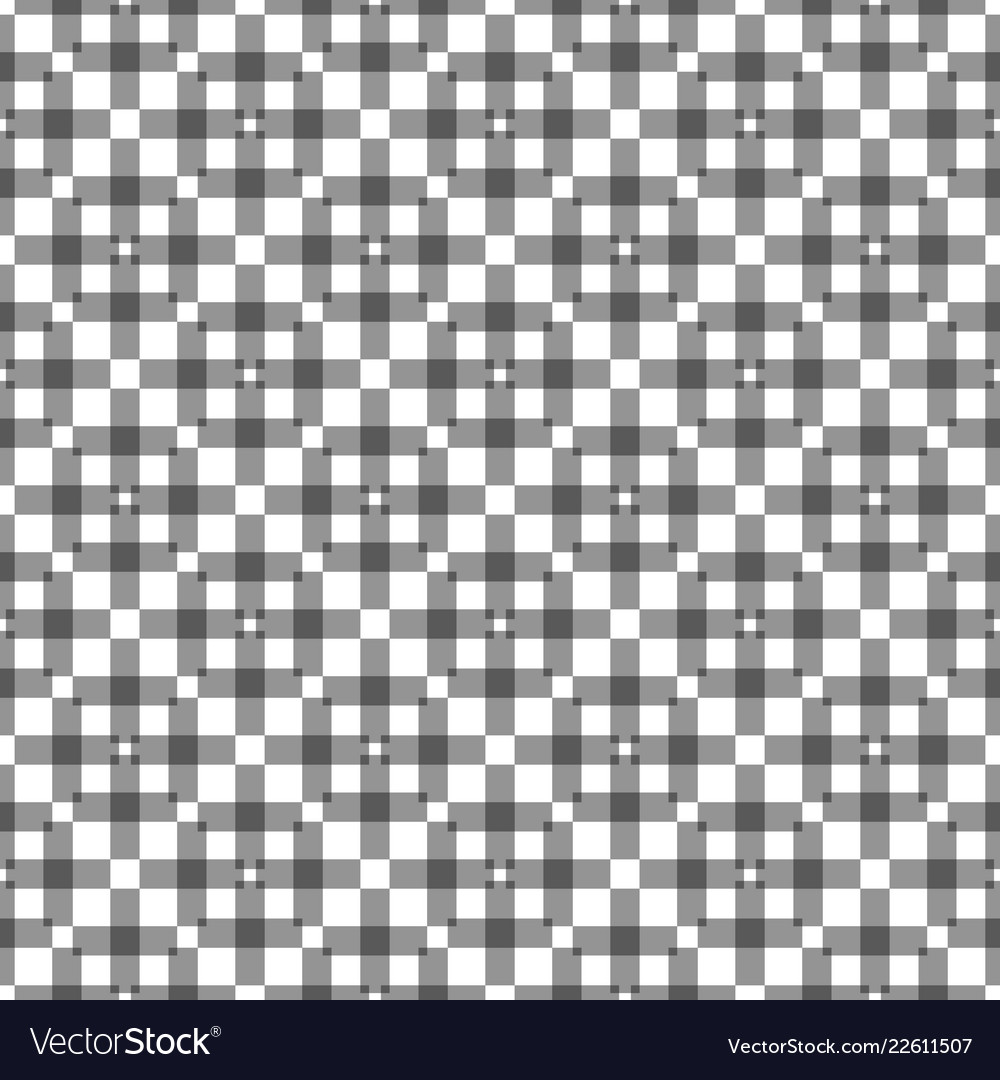 Geometric squares seamless ornament simple black