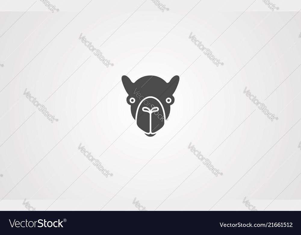 Camel icon sign symbol