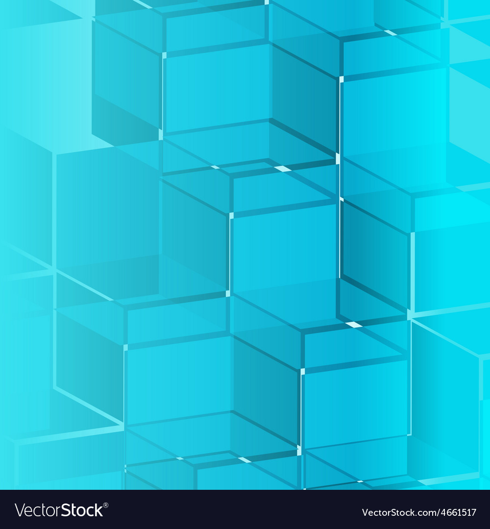 Blue mask of background vector image