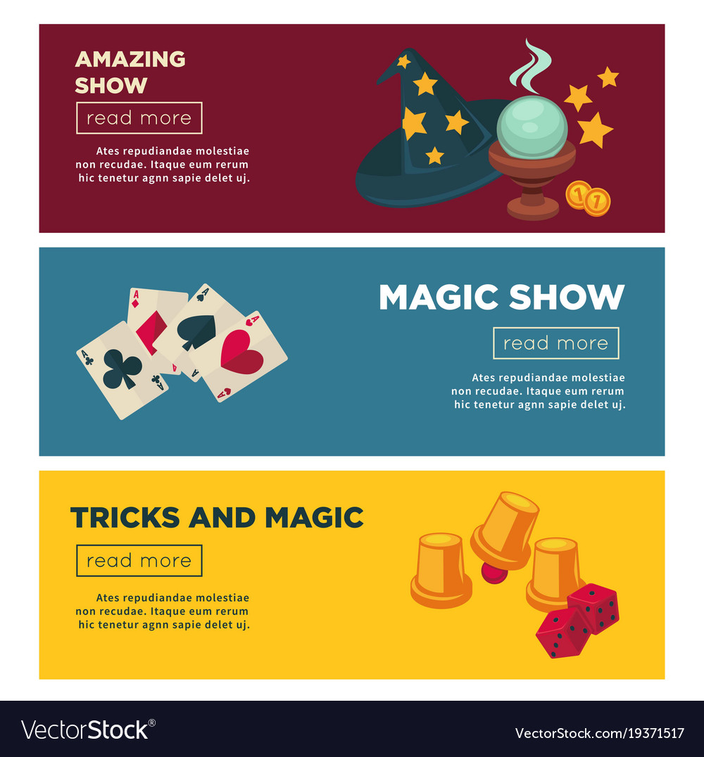 Magic show with amazing tricks internet