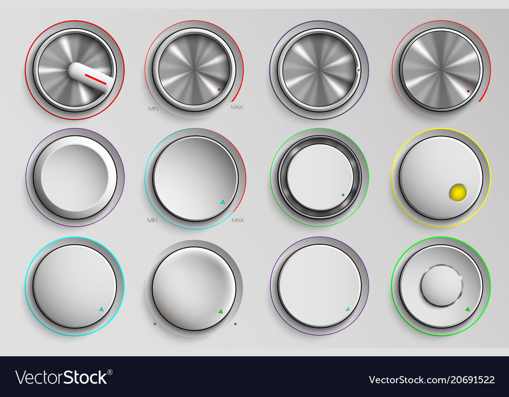 Buttons reality volume control