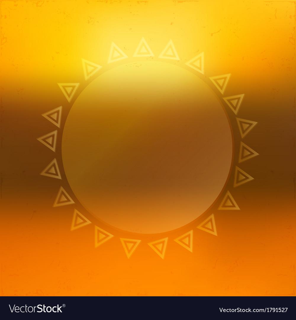 Beautiful sunny background