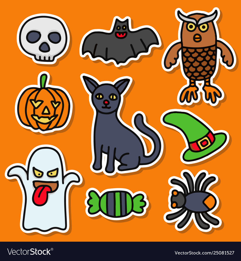 Collections halloween sticker good for your print