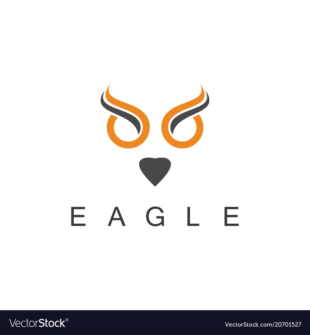 Eagle art logo