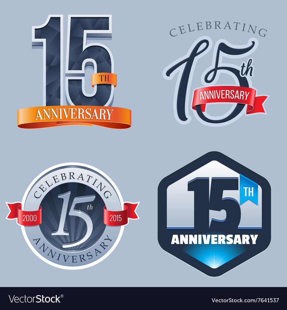 15 Years Anniversary Logo