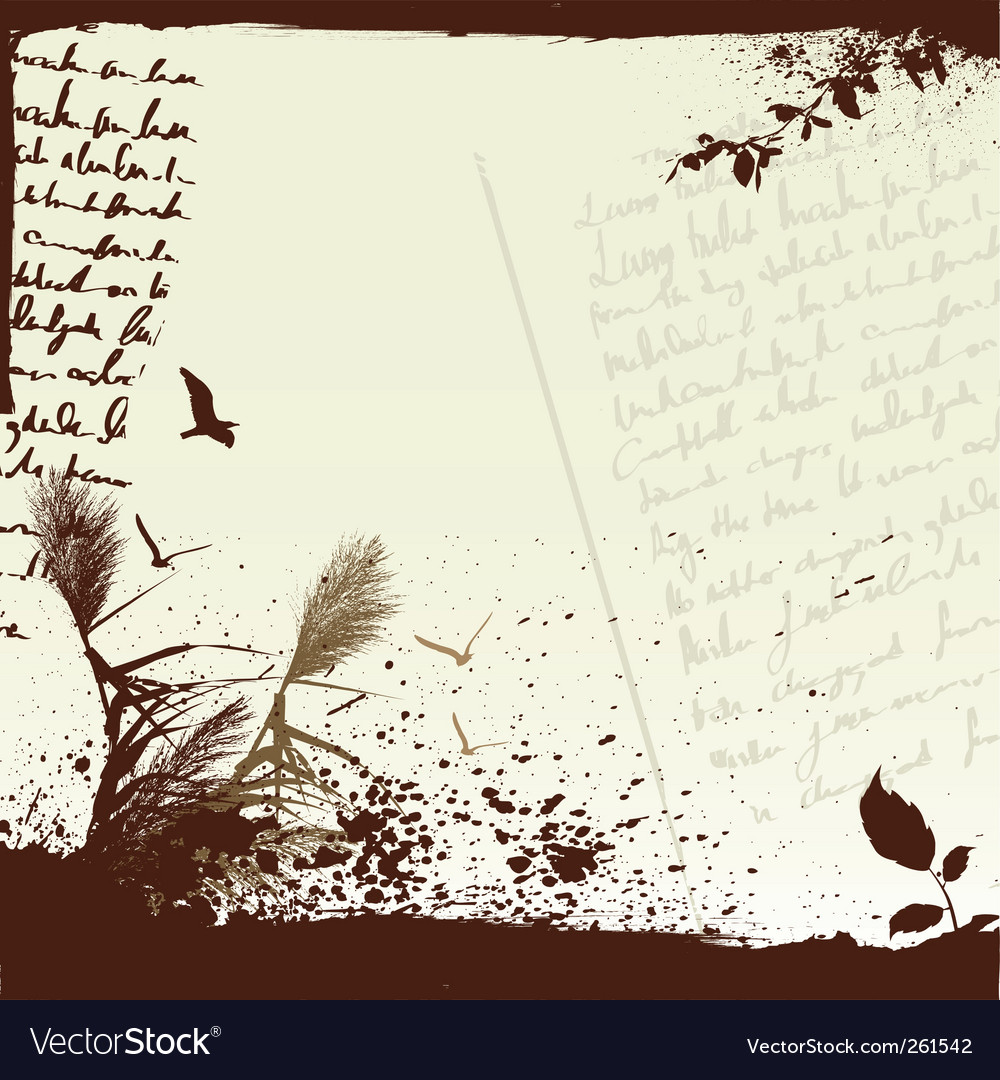 Blank note papers vector image