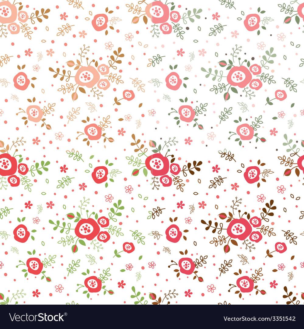 Rose seamless patterns
