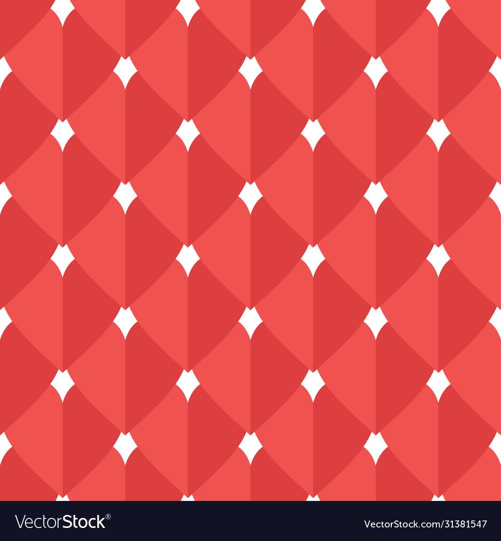 Hearts flat seamless pattern