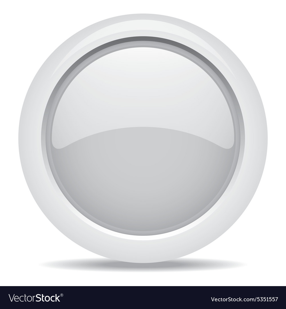 Empty symbol icon luxury gray metal circle