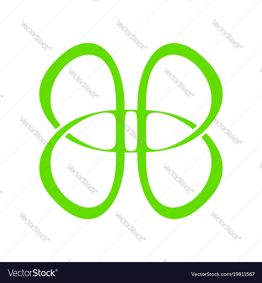 B, Butterfly & Letter Vector Images (46)