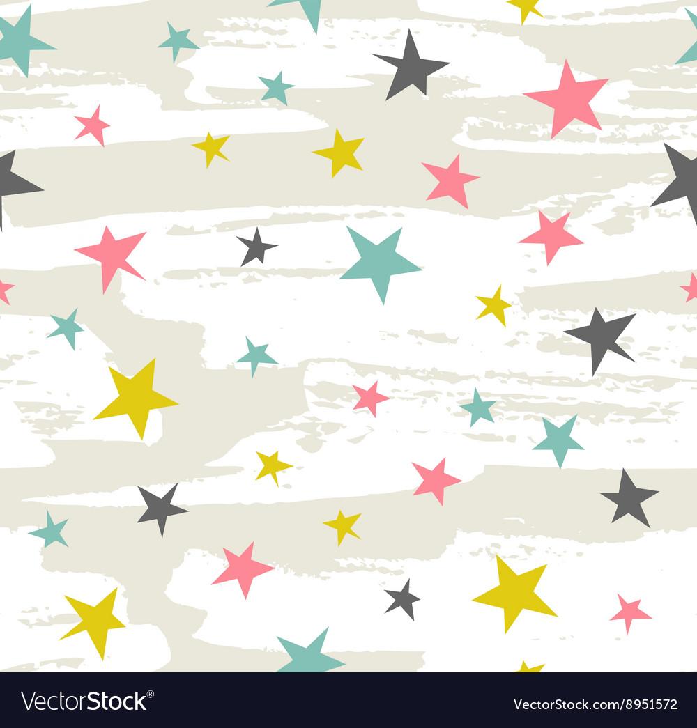 Hipster Geometric Star seamless Pattern Star