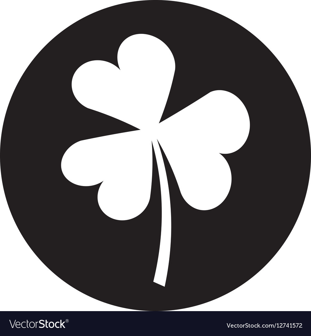 Saint patricks clover icon