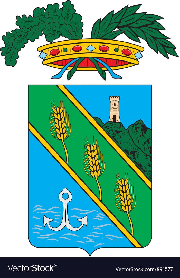 Latina Province vector image