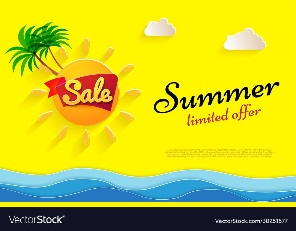 Yellow flyer summer sale limited offer big sun