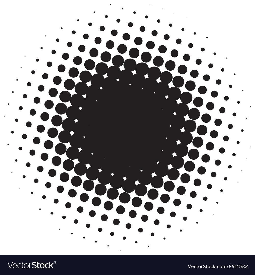 abstract halftone circle royalty free vector image rh vectorstock com halftone vector download halftone vector online