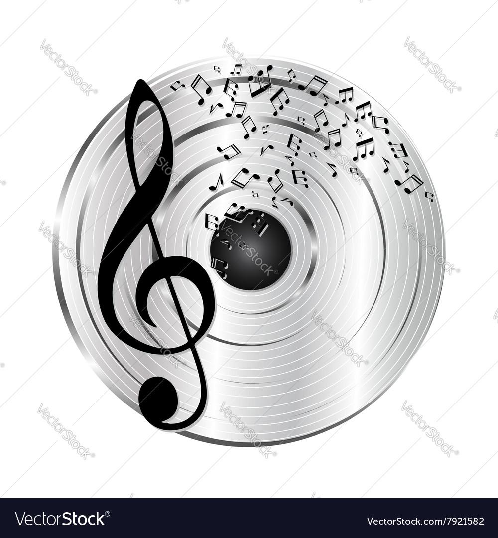 Music platinum record
