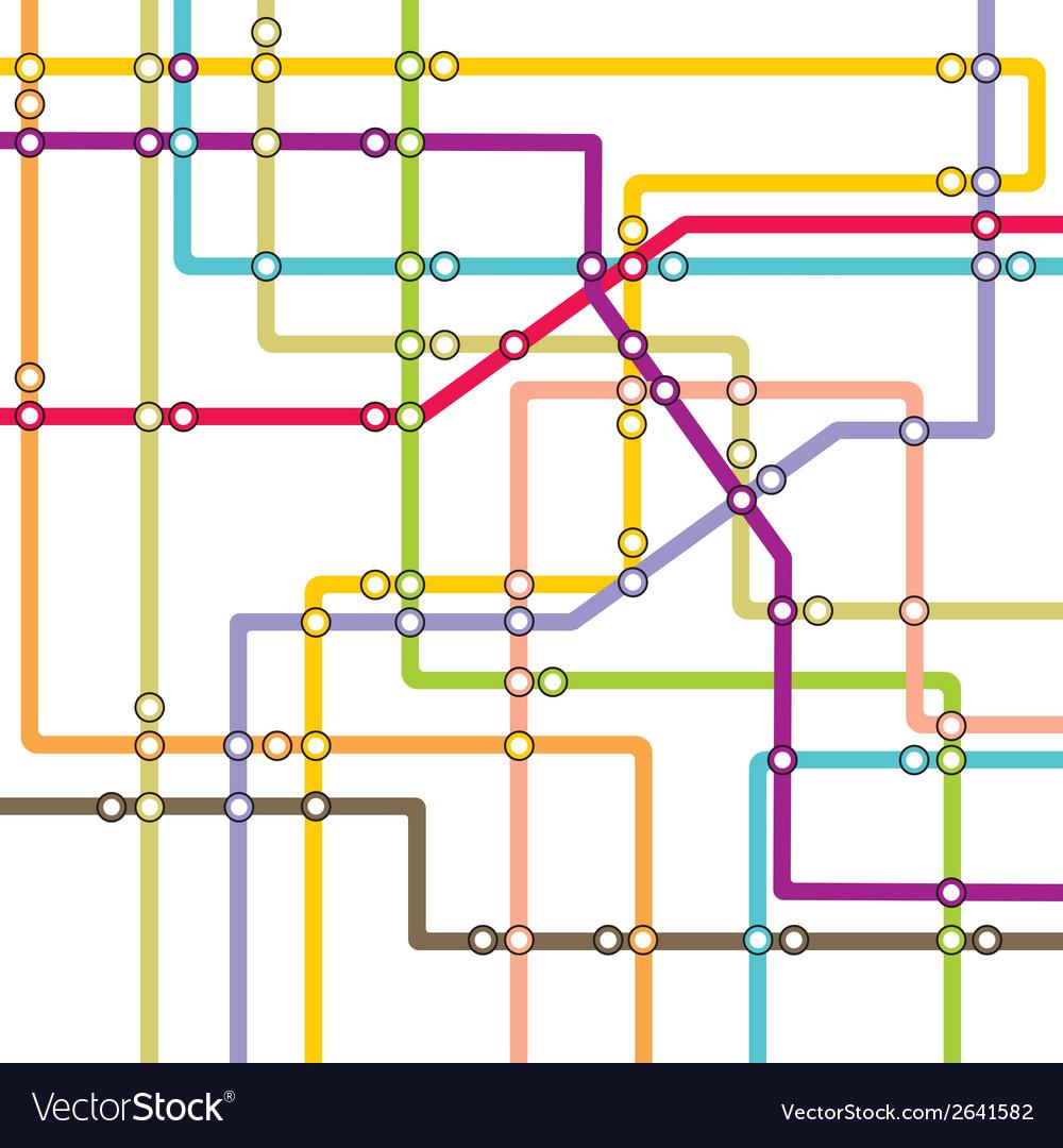 Subway1 vector image