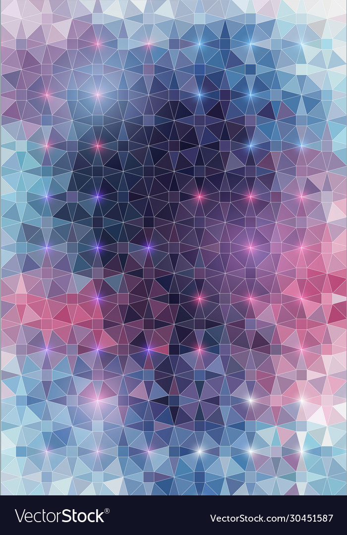 Abstract geometric triangle style background