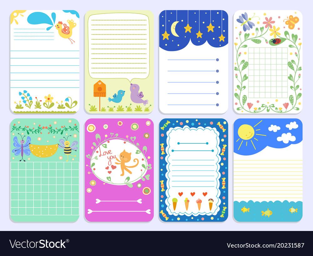 Baby shower design cute layout journal