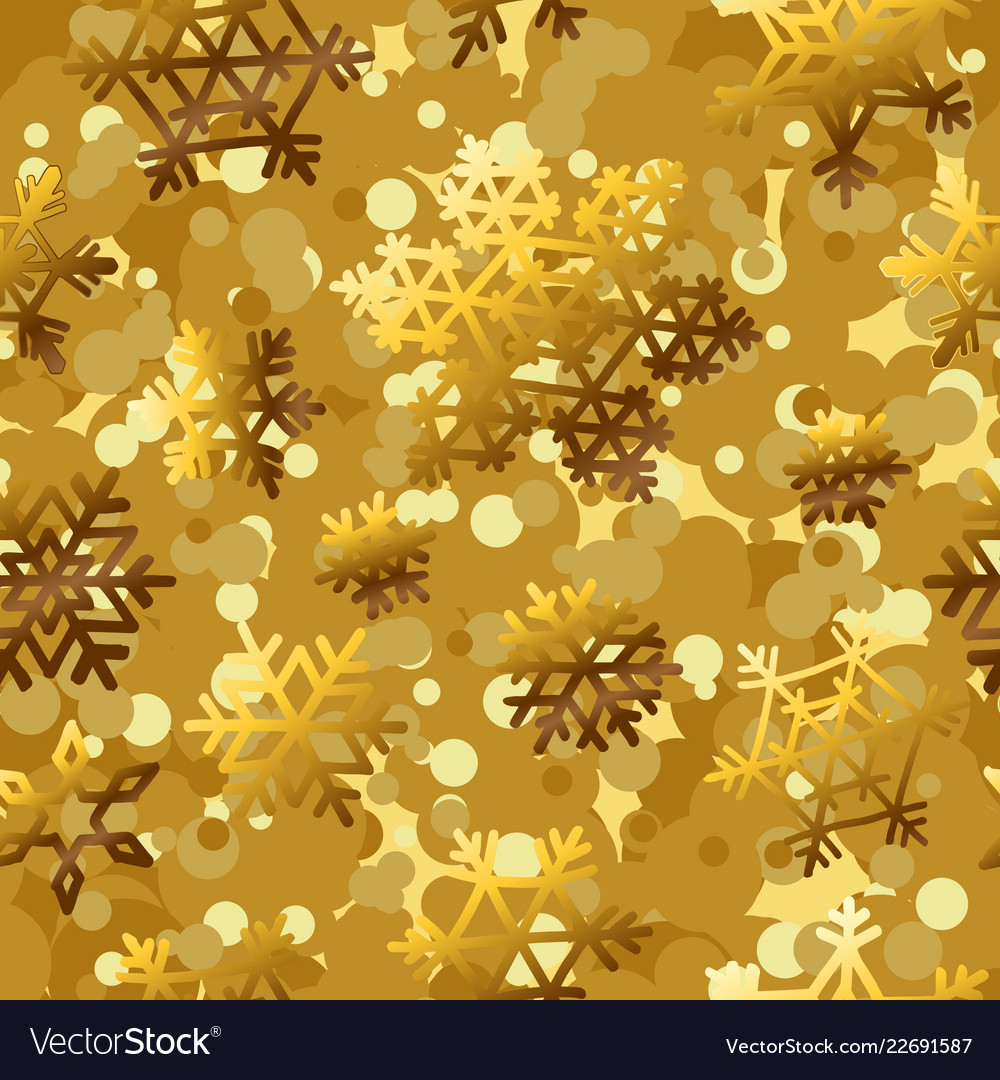 Golden pattern seamless backgrounds with gold