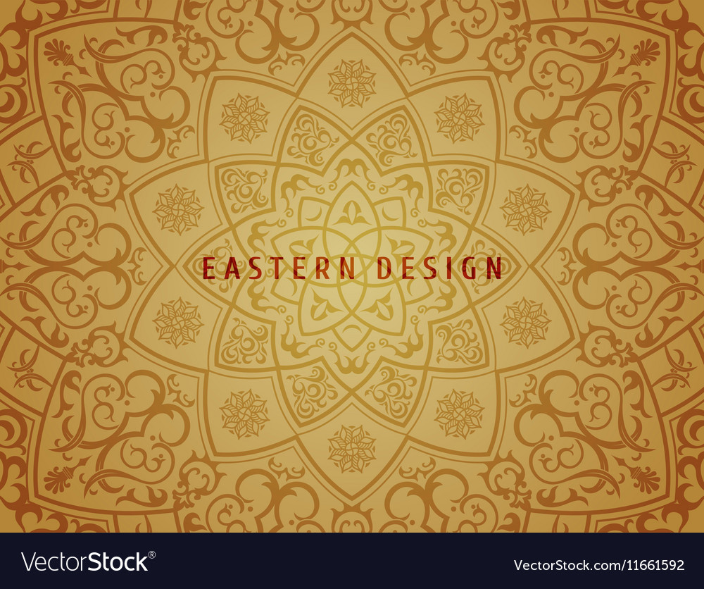 Ethnic background Vintage pattern mandala