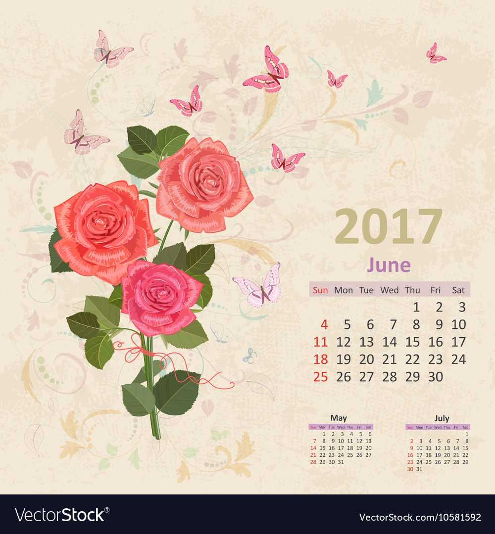 Lovely bouquet of pink roses on grunge background