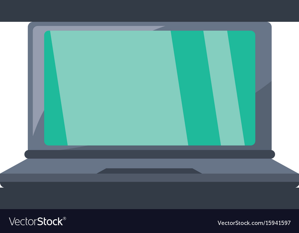 latop pc technology royalty free vector image vectorstock