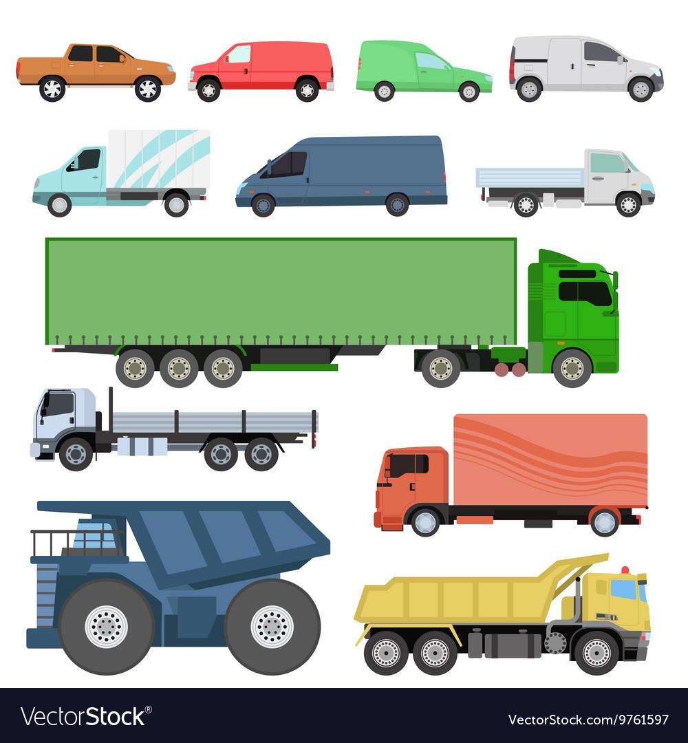 Trucks set