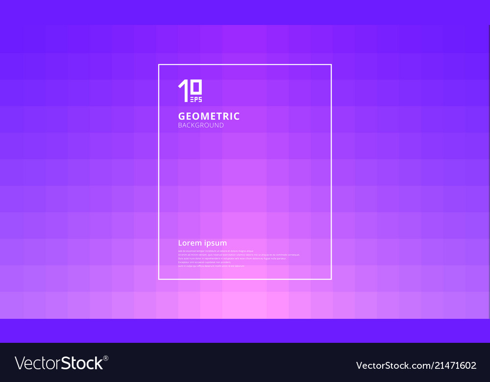 Abstract geometric squares pattern with lighting